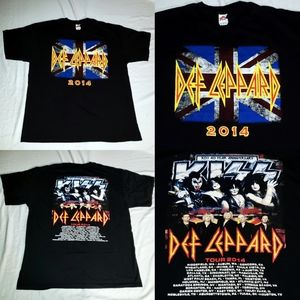 Def Leppard X Kiss 2014 Concert Tour Rock Band XL
